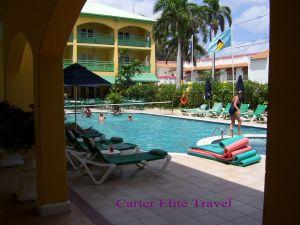 Main pool area at Sandals Inn