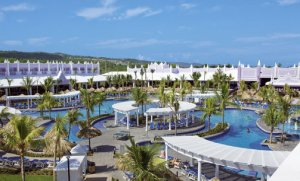 Main Pool Overview at RIU Montego Bay