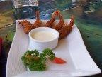 Coconut Shrimp at Catcha Falling Star
