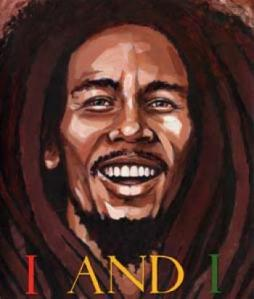 Cover of the book I & I Bob Marley written by Tony Medina