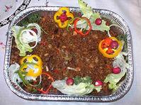 Jamaican chinese pork fried rice