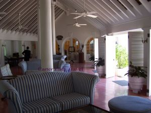 Reception area at Couples San Souci