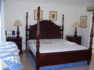 Bed in Prime Minister Suite at Couples San Souci