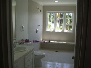 Shower area in the Prime Minister Suite at Couples San Souci