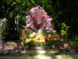 Fresh Fruit Display at Prospect Plantation