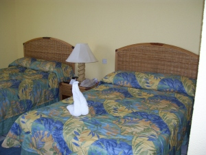 Room with double beds at Sunset Jamaica Grande