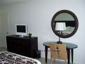 Sitting area at Rose Hall Resort