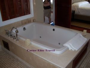 Tub in Room 91