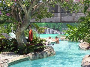 Lazy River at Sandals Royal Caribbean