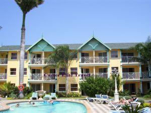 Resort view of Sandals Royal Caribbean