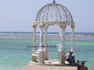 Gazebo at Sandals Royal Caribbean in Montego Bay