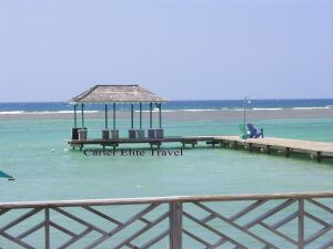 One of several wedding areas at Coyaba Beach Resort