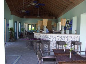 One of the bar areas are Coyaba Beach Resort