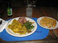 Dinner in Jamaica