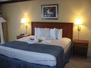 Beautiful King-size bedroom at Iberostar