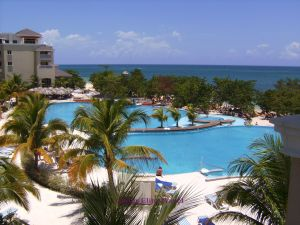 One of the pool area at Iberostar