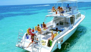 Beached Negril Boat