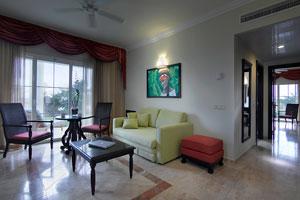 Grand Palladium Suite Sitting Area