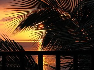 Beautiful Sunset in Jamaica