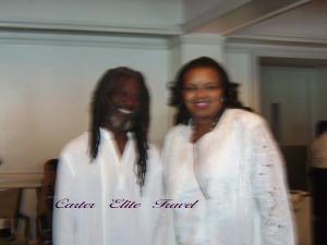 Lula Carter and Gene Pearson
