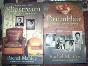 My personal autographed copies of Rachel Manley books