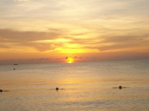 Sunset at CoCo LaPalm in Negril